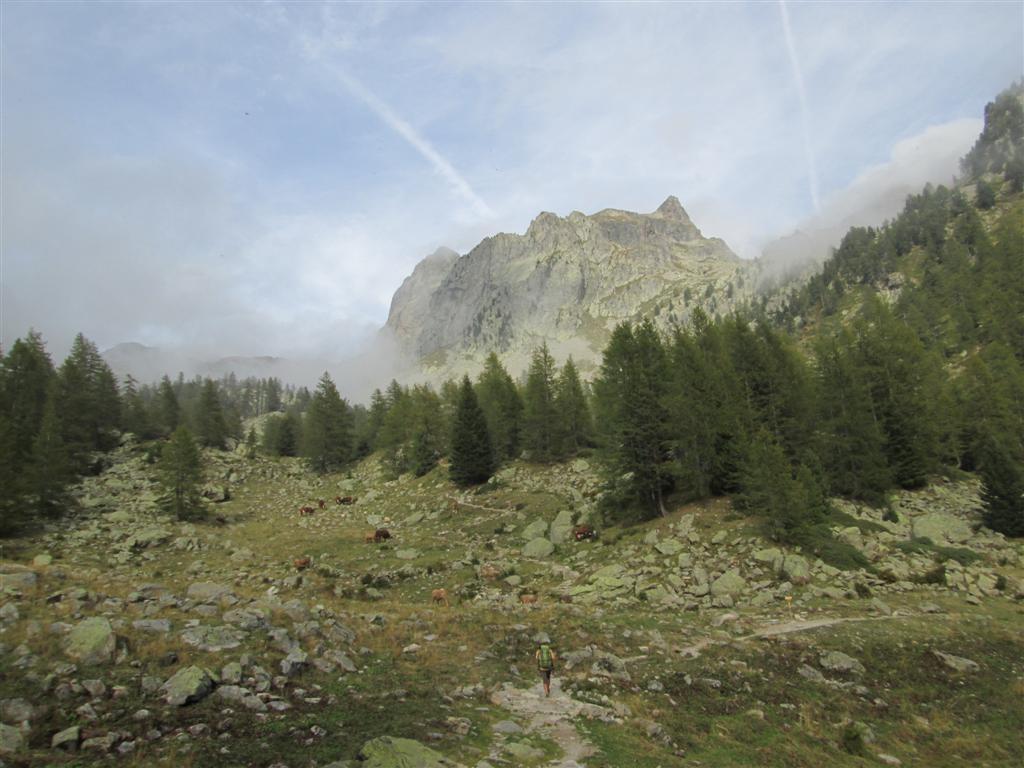 Cime De Tavels (2795m), frontière franco-italienne