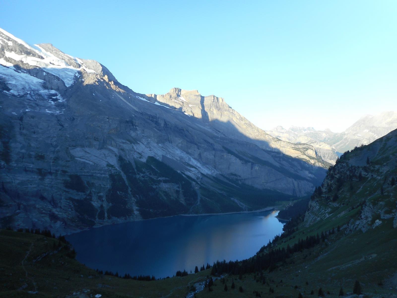 Ca monte raide  vers l'Hohtürli (2778m)