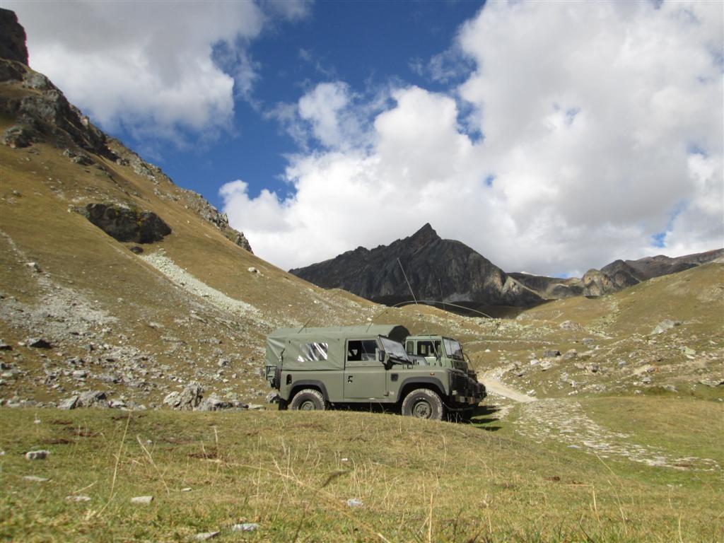 Manoeuvres militaires en préparation dans le val Maurin