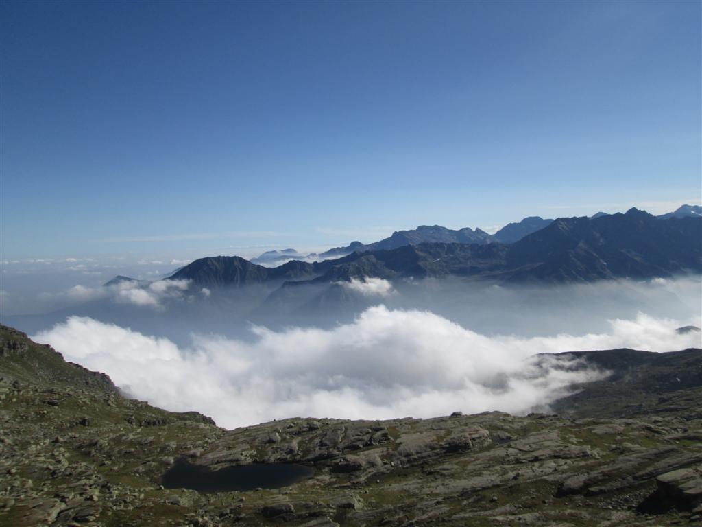 Descente du colle Crocetta (2640m)