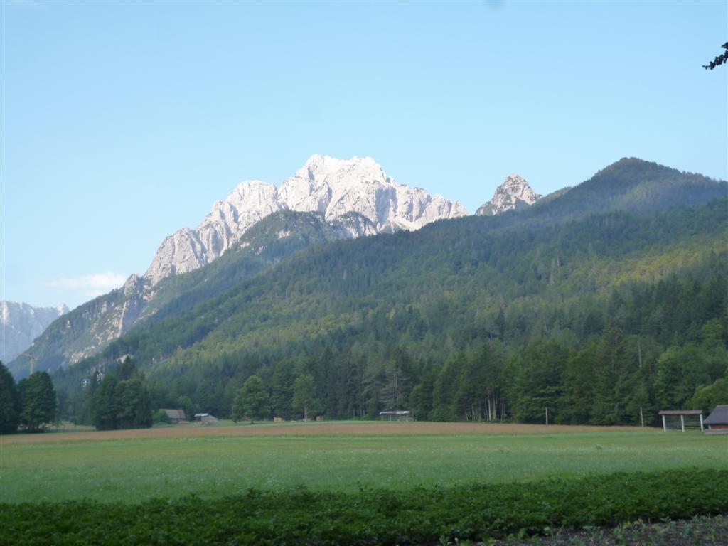 Vallée de Planica, en descendant sur Ratece / Podokoren