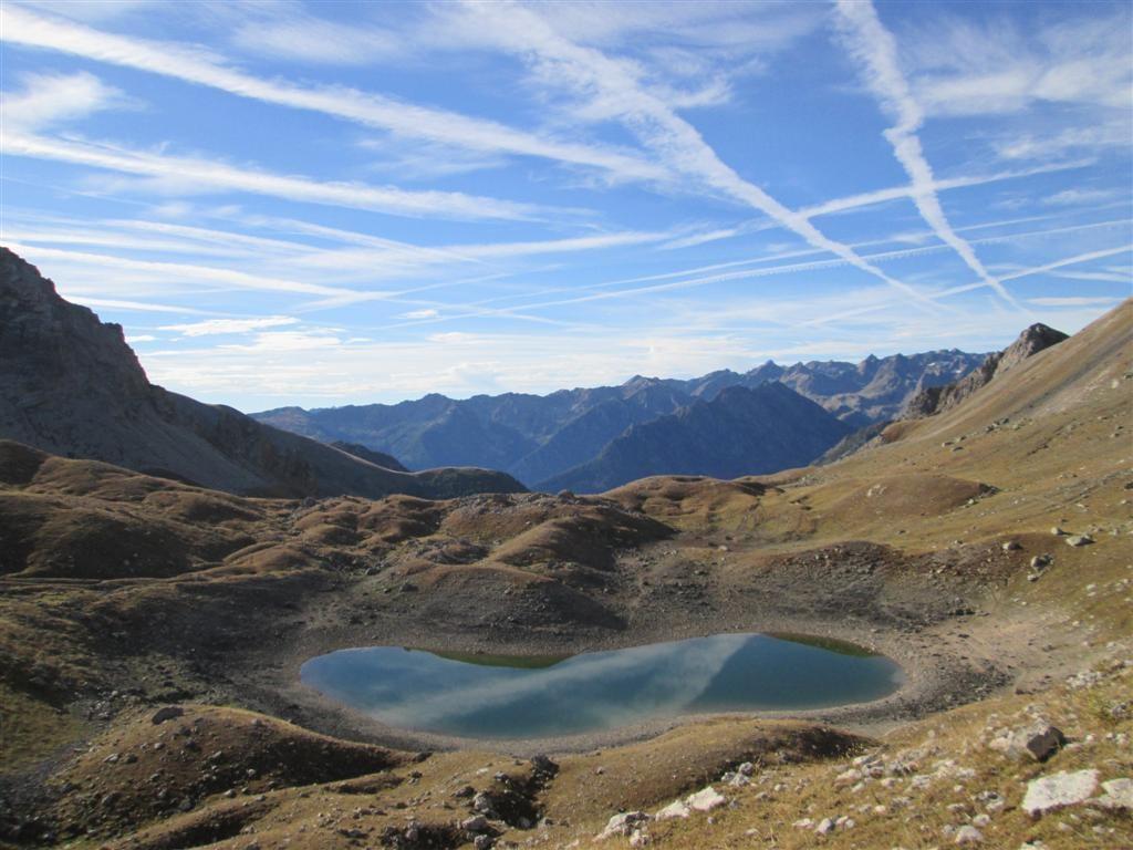 Le lago d'Osero, en descendant sur Pontebernardo