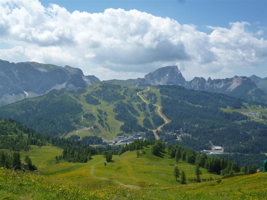 Les pistes de ski de NassFeld