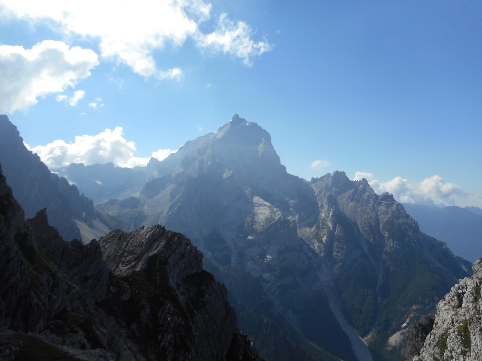 Monte Antelao (3264m) depuis la Forcla Grande