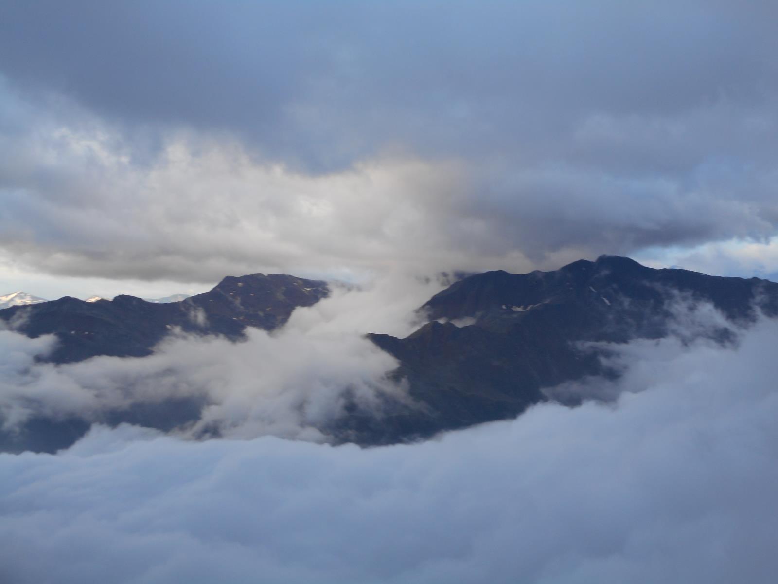 On passe en Italie, début de journée brumeuse