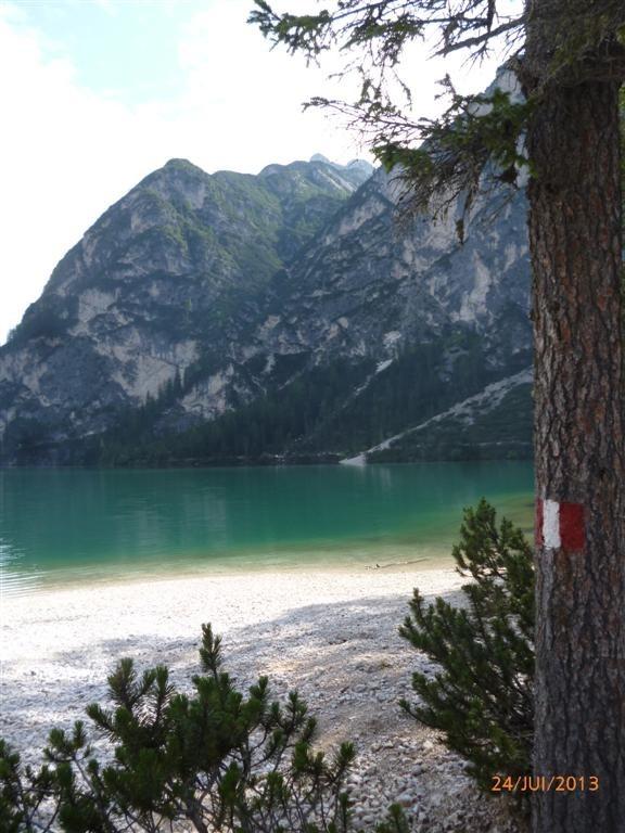 Le Pragser Wildsee, haut lieu touristique (1500m)