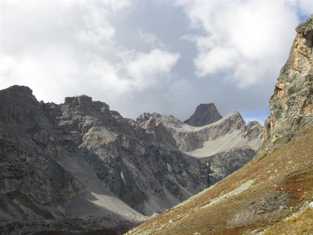 Descente dans le Val Maurin