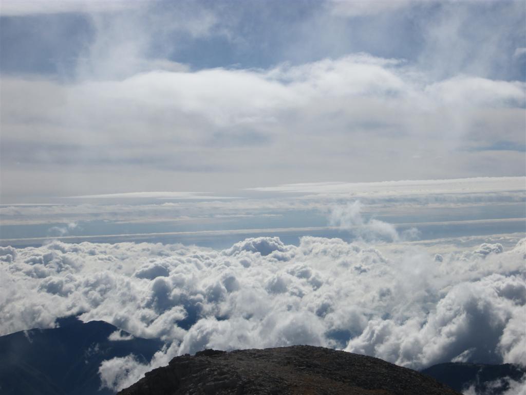 Notre dernier sommet : le Mont Bégo à 2872m !