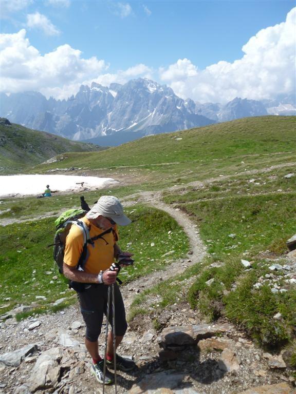 Un peu avant l'arrivée au Sillianer Hütte (2452m)