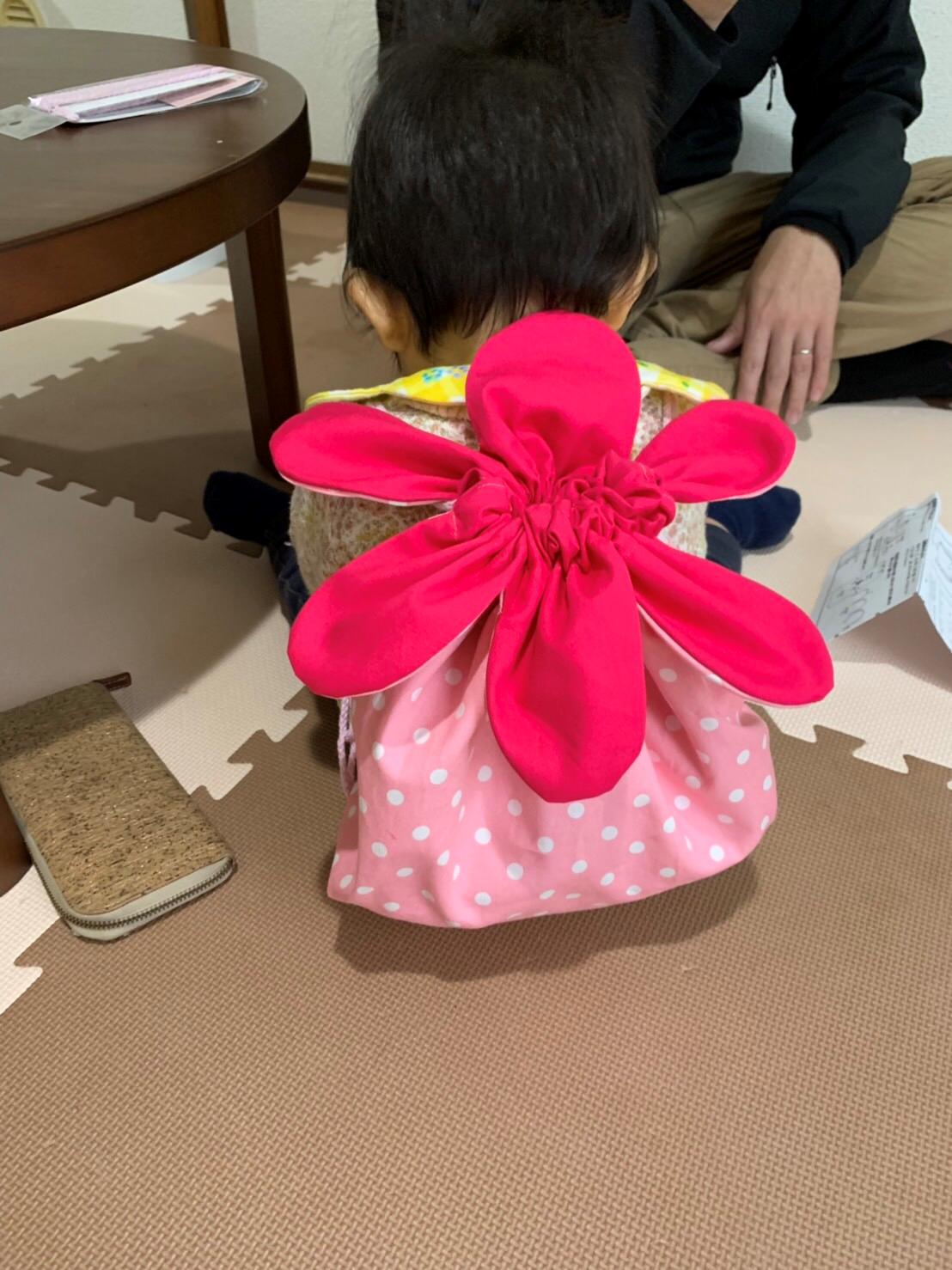 お花のリュック 初心者難易度★★