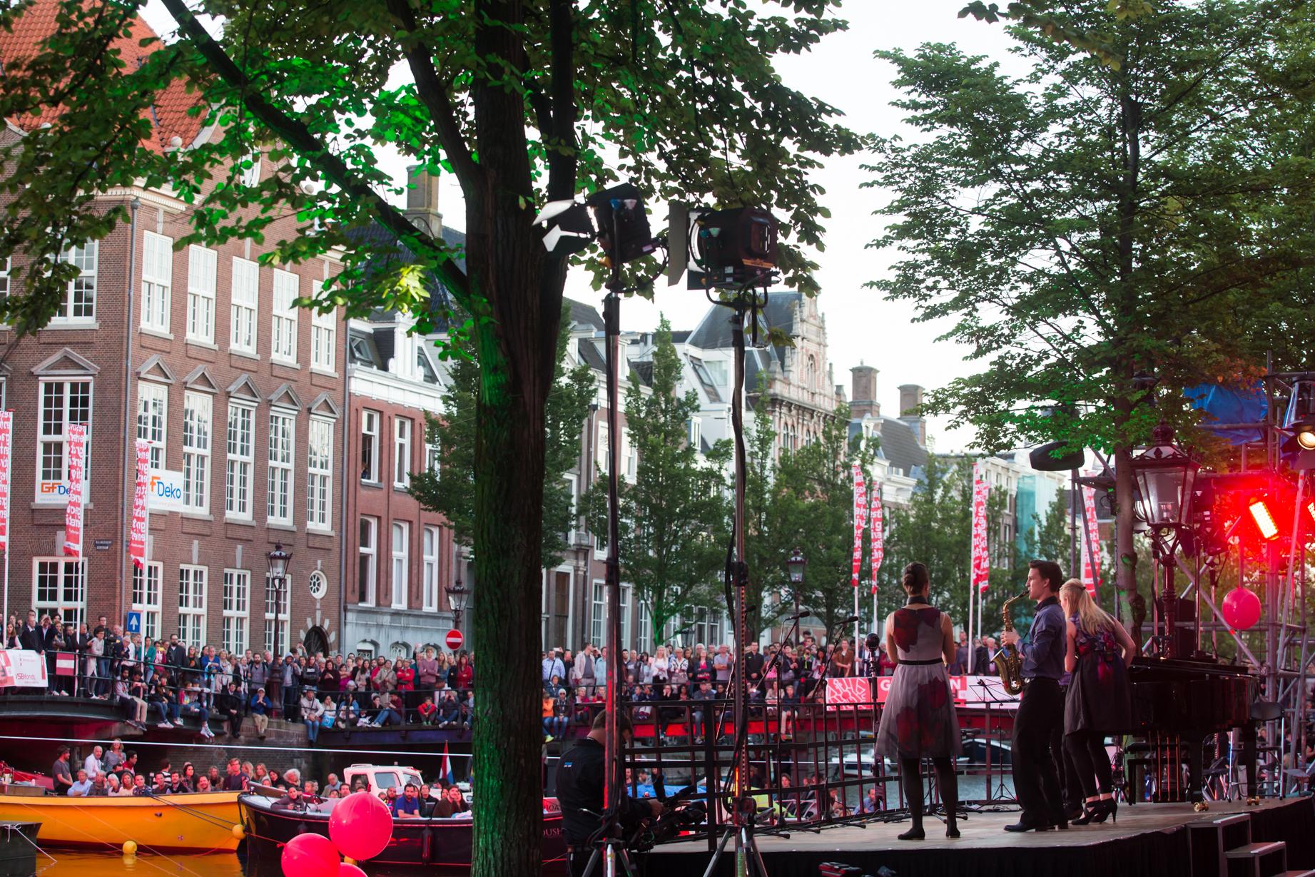 Grachtenfestival, Amsterdam 2016