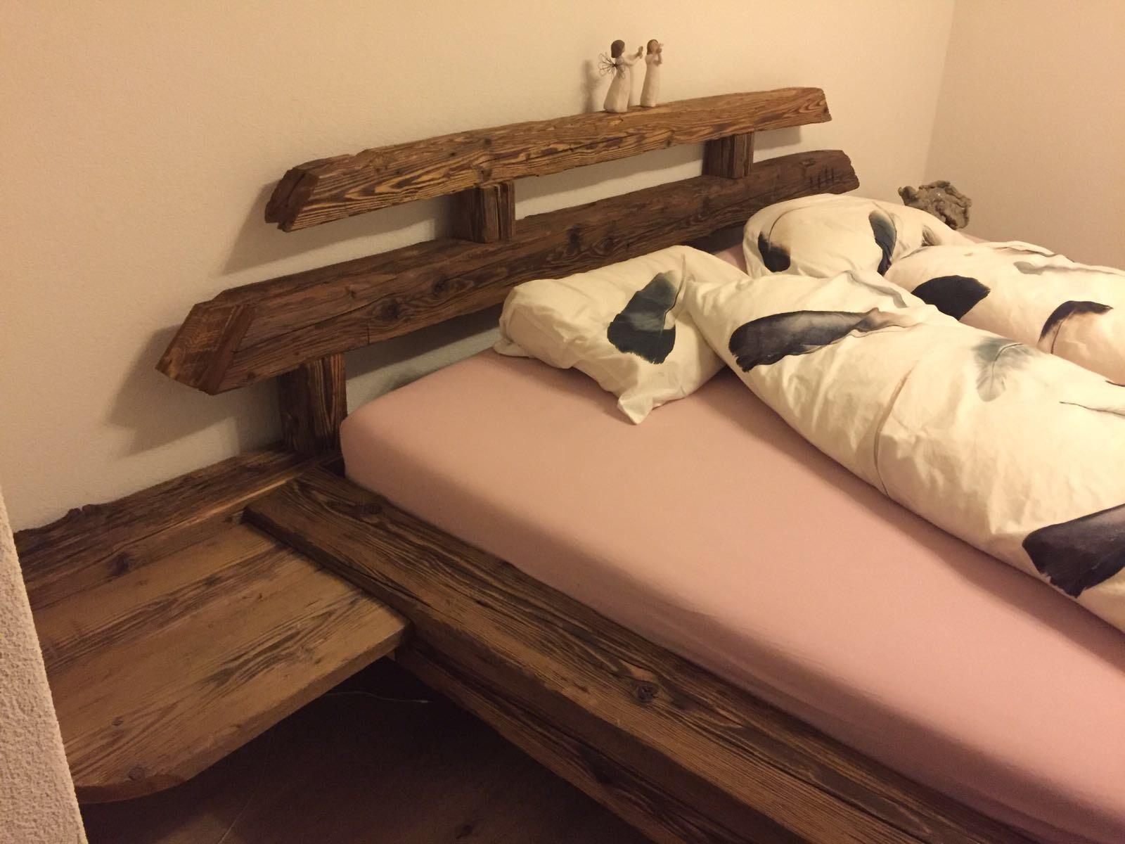 Bett in Altholz