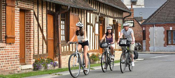 Le Champ du Pré - Chambre d'hôtes Sologne Val de Loire - Les itinéraires balisés de la Sologne à Vélo