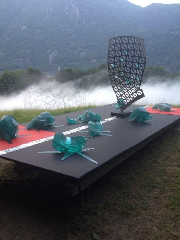 Kunst - OpenArt Roveredo mit Christian K.