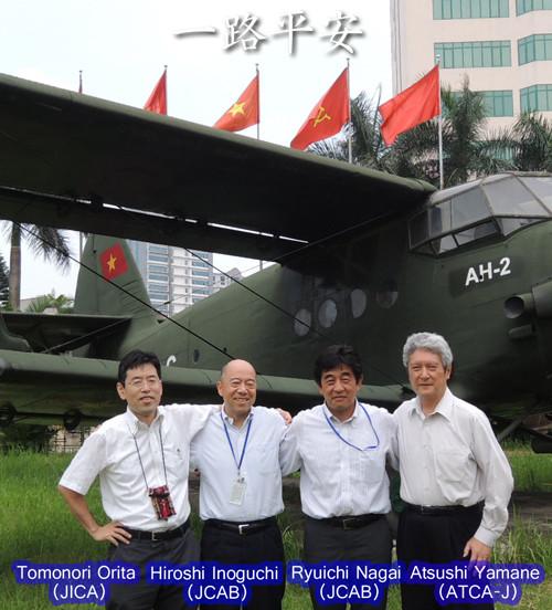 Japanese Long-Term Expert Team (1st phase member) / June 2012 in Hanoi