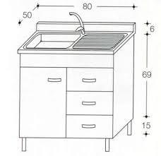 sottolavello mobile teak o bianco