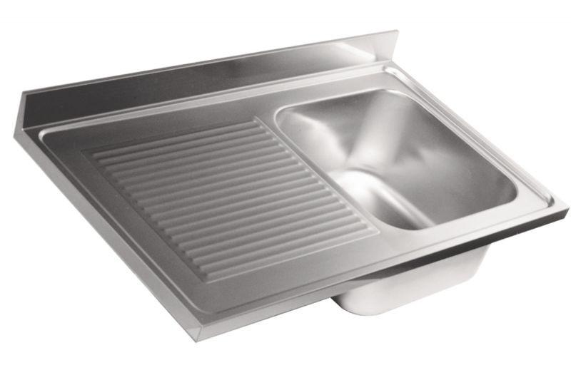 Sottolavelli e lavelli da cucina incasso e appoggio for Lavandino acciaio inox