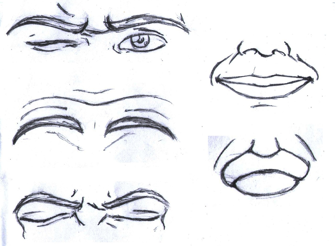 Le Espressioni Facciali Comics Art Studio