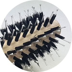 Medium Round Styling Brush Marlies Möller mit Kunststoff- und Wildschweinborsten