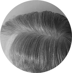 glatte Haare NACH dem Glätten