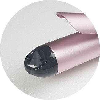 Babyliss Pro Lockenstab 38mm, Lockenstab für XXL-Locken, Lockenstab mit Klemme und kühler Spitze