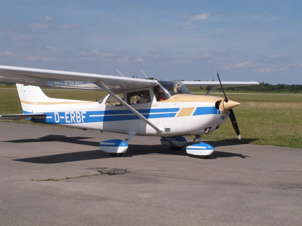 vielen Dank an Karsten mit Cessna 172