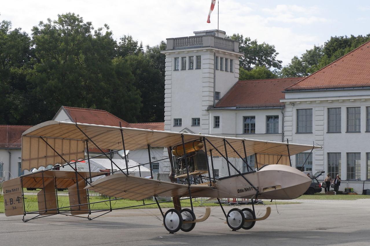 Szenario 1912, Otto DD vor Flugwerft. Foto: PE