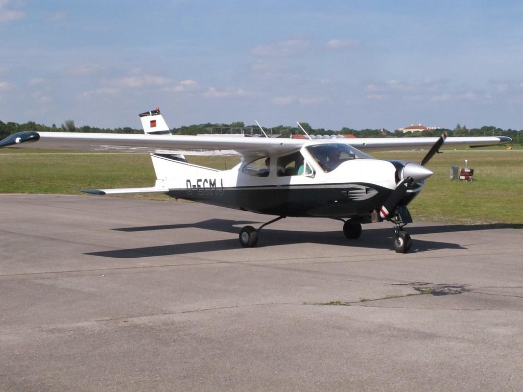 vielen Dank an Adolf mit Cessna 177