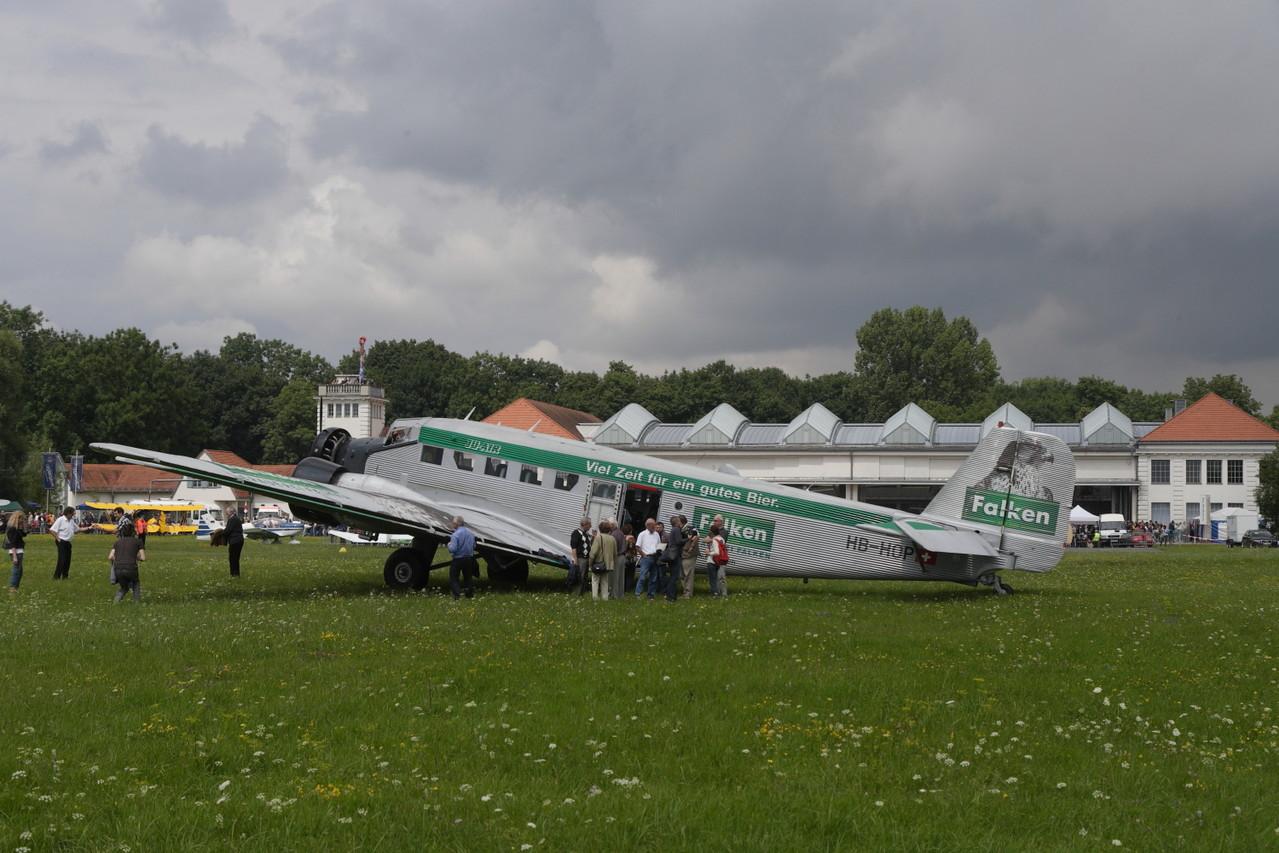 Junker Ju 52, Ju Air. Foto: PE