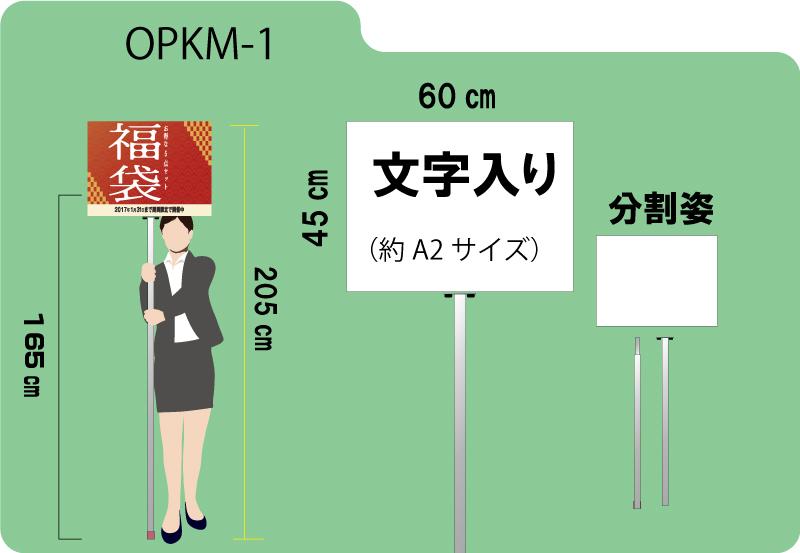 大型プラカード(両面)文字入り 21000円