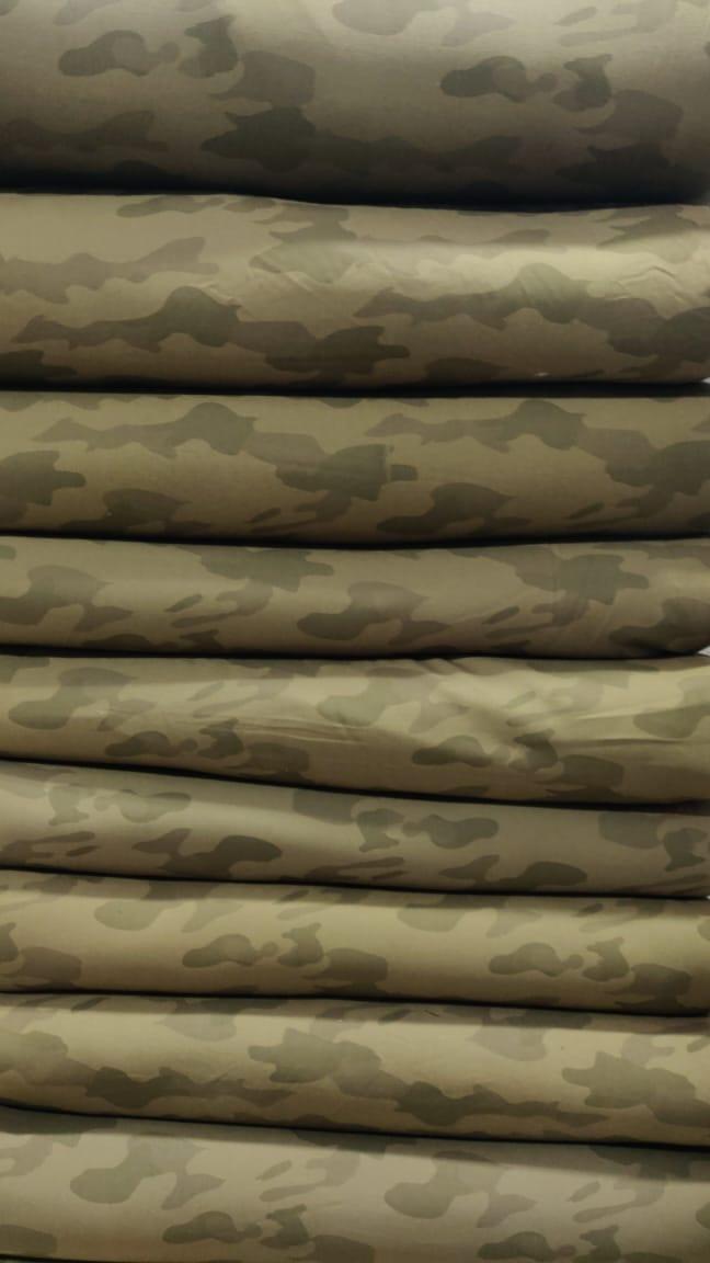 tissu pour tenue militaire