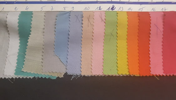 fournisseur de tissus voile de coton