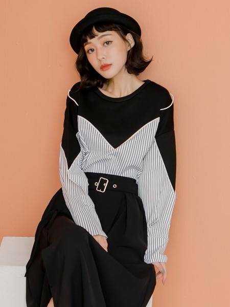 robe en tissu carla noir