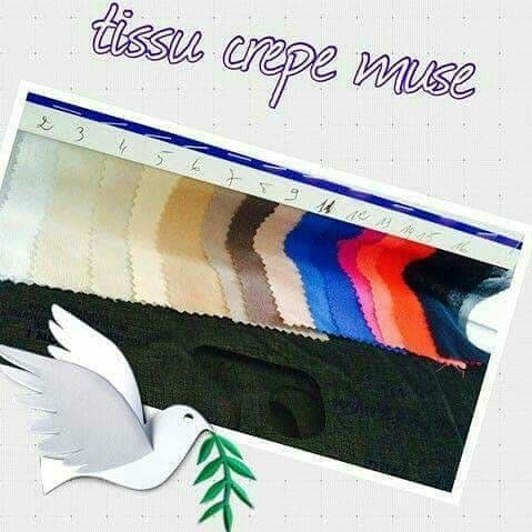 mousseline  crepe musse