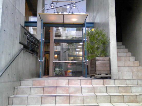 大山スタジオ入り口