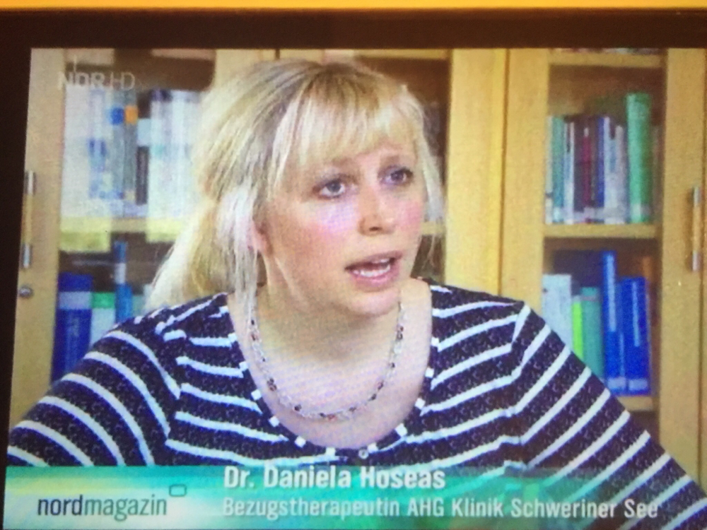 Fernsehbeitrag vom Mai 2016 zum Thema Angststörungen