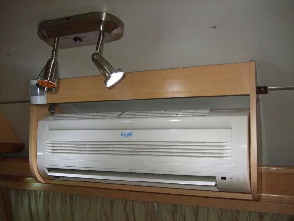 Aire acondicionado split frio - calor