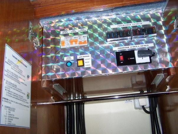 TABLERO GENERAL DE ELECTRICIDAD 220 V- 12 V