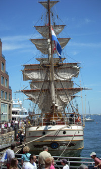 Tall Ships on a Boston Visit