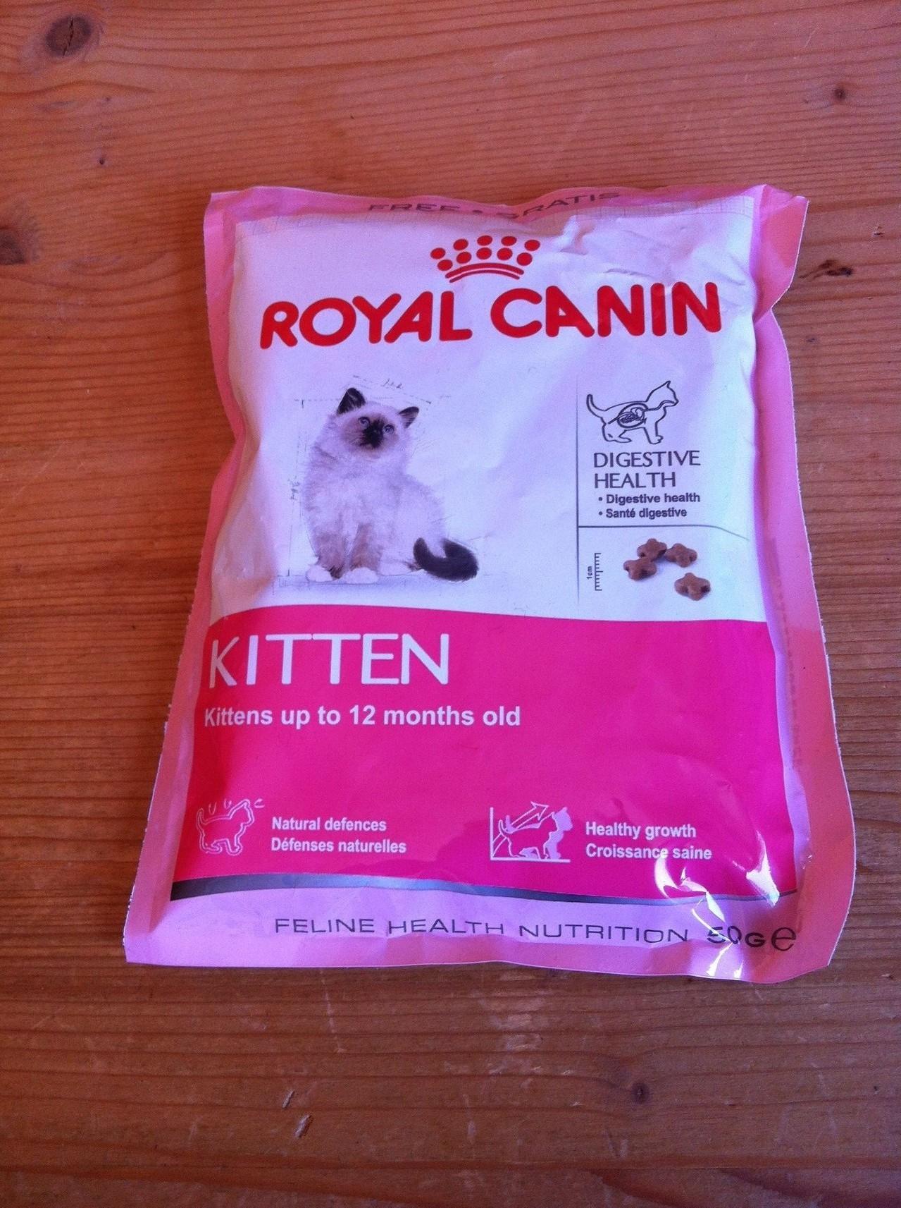 lecker Futter für die Royal Königin des Hauses