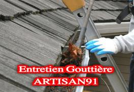 nettoyage gouttière de toit
