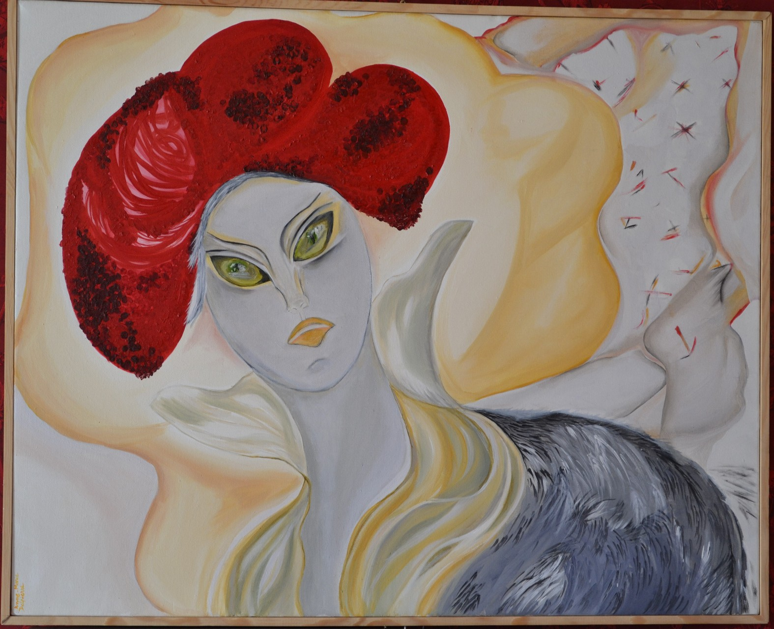 La Reine Margot ,92x80cm