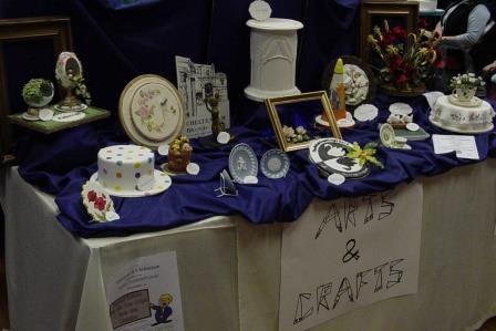 Exhibition table by Cheltenham BSG