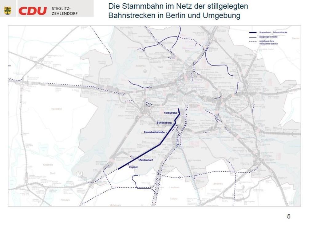"""""""Diese Summe wollen wir im Rahmen der Ausschreibung des Stadtwerbevertrages stemmen"""", meint Heilmann. - Karte: CDU Steglitz-Zehlendorf/Staubach + Kuckertz Architekten"""