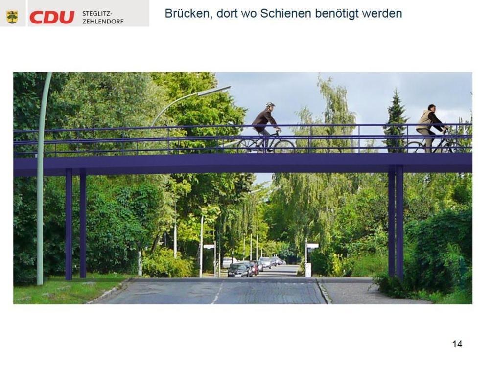 Ob die Pläne Wirklichkeit werden, hängt auch von der Haltung der Deutschen Bahn ab, der die Trasse gehört. Justizsenator Heilmann kündigte an, bestenfalls die Zusammenarbeit mit der Bahn zu suchen. Vor Gerichtsverfahren habe er keine Angst.