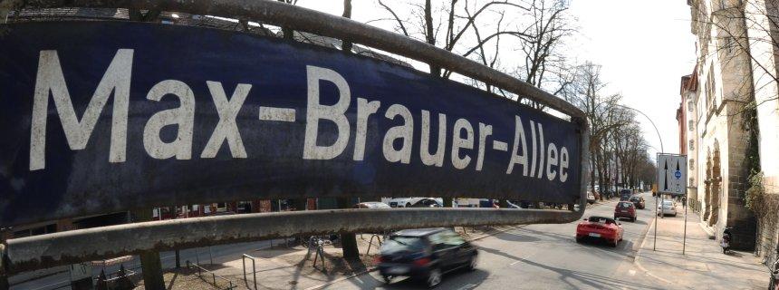 Max-Brauer-Allee in Hamburg-Altona