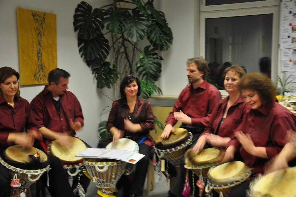 Außergewöhnliche Vernissage von Sandra Altmann, am 02.02.2012 in Wien.