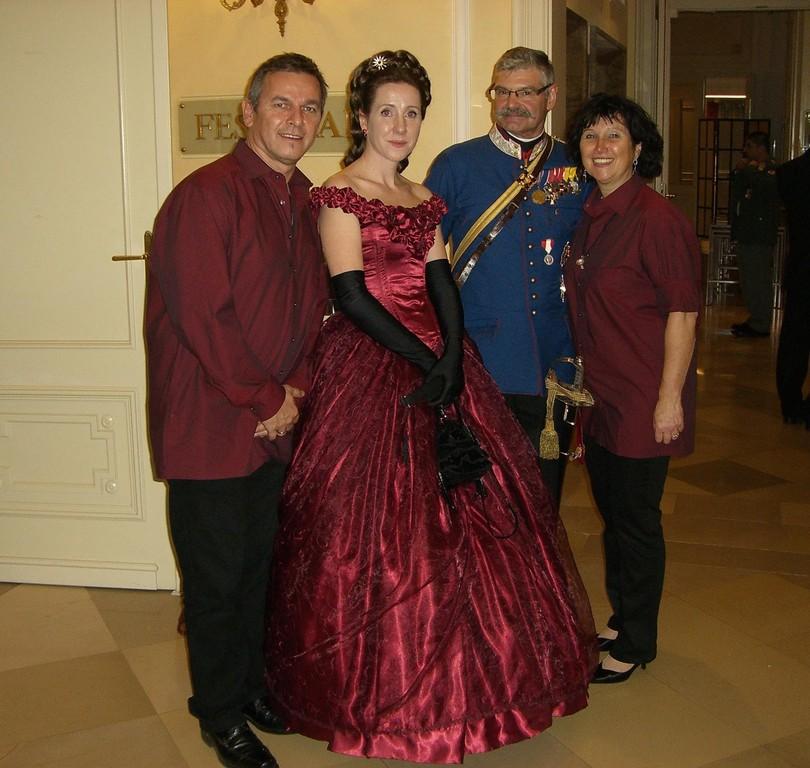 Trauung von Herta Margarete und Sandor Habsburg-Lothringen mit anschließendem Gala-Abend