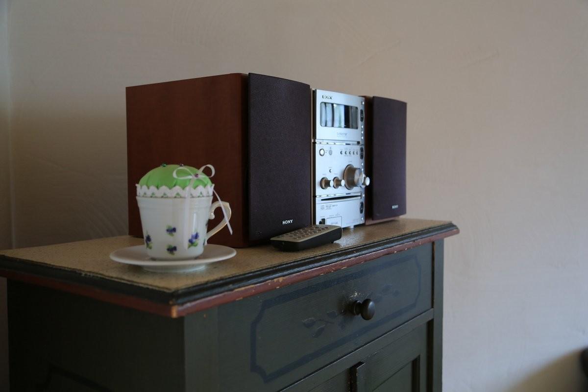 Musikanlage mit Radio, CD- und MC Player
