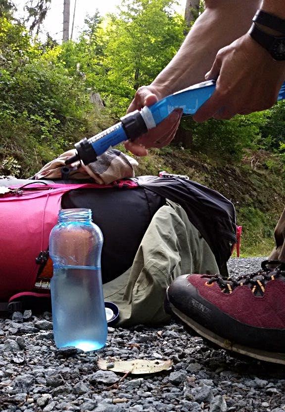 Wasser filtern mit Sawyer mini